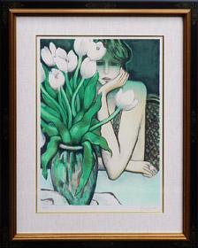 チューリップの花瓶