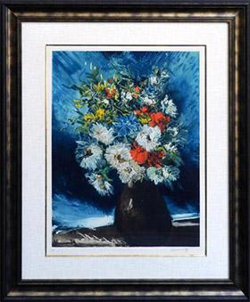 ブラマンク 花瓶の花束(C・ギラール版)