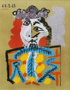 ピカソ 想像の中の肖像