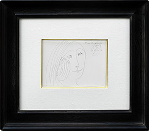 ピカソ 女性の肖像