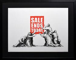 バンクシー Sale Ends