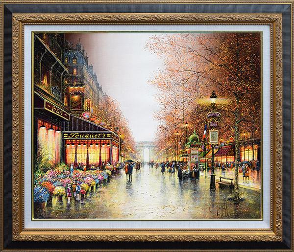 パリ、シャンゼリゼ